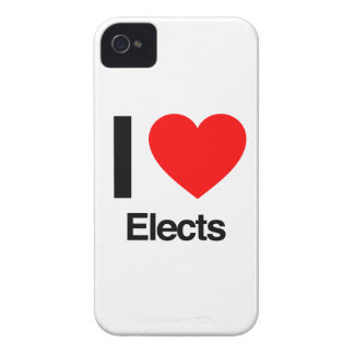 i love elects iPhone 4 cover