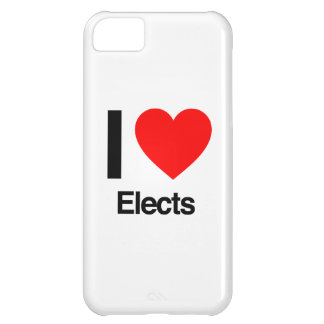 i love elects iPhone 5C cases