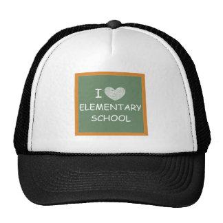 I Love Elementary School Trucker Hat