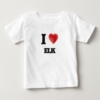 I love ELK Baby T-Shirt