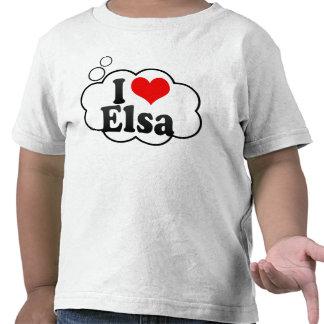 I love Elsa Tshirts