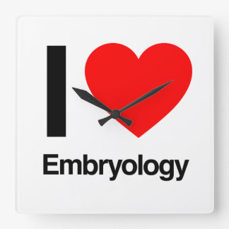 i love embryology wallclocks
