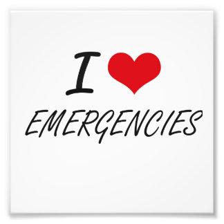 I love EMERGENCIES Photo