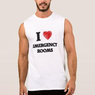 I love EMERGENCY ROOMS Sleeveless Tees