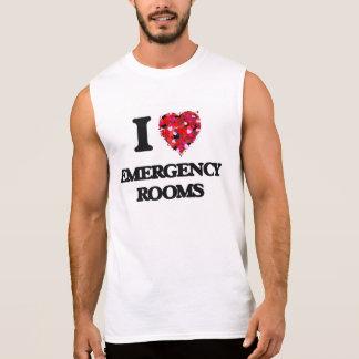 I love EMERGENCY ROOMS Sleeveless Shirt