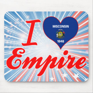I Love Empire, Wisconsin Mousepads