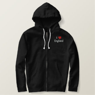 I Love England Embroidered Shirt