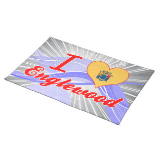 I Love Englewood, New Jersey Place Mat