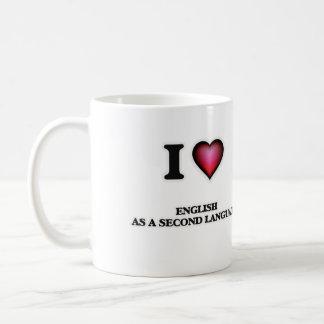 I Love English As A Second Language Coffee Mug