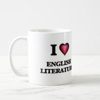 I Love English Literature Coffee Mug
