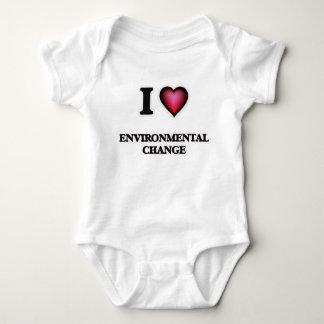 I Love Environmental Change Baby Bodysuit