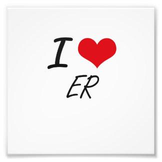 I love ER Art Photo