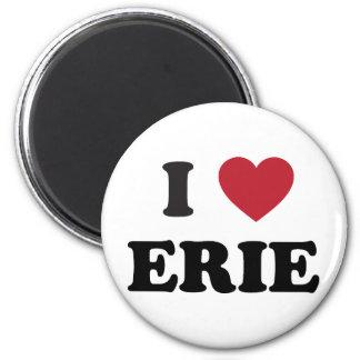 I love Erie Pennsylvania Magnet