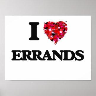 I love ERRANDS Poster