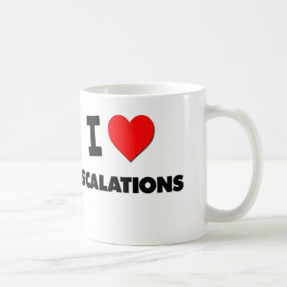 I love Escalations Coffee Mug
