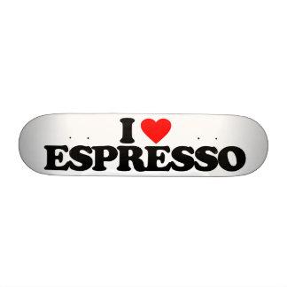 I LOVE ESPRESSO SKATEBOARD DECKS
