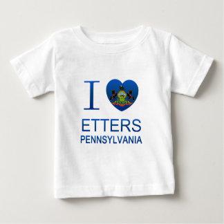 I Love Etters, PA Baby T-Shirt