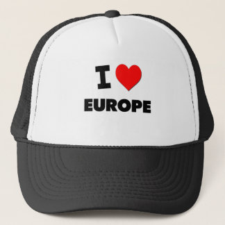 I love Europe Trucker Hat