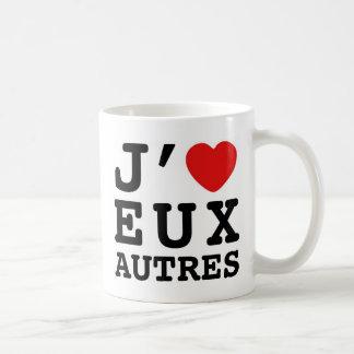 I Love Eux Autres Mug