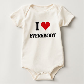 I love EVERYBODY Baby Bodysuit