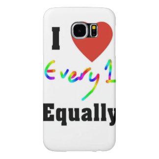 I Love Everyone Equally Samsung Galaxy S6 Case