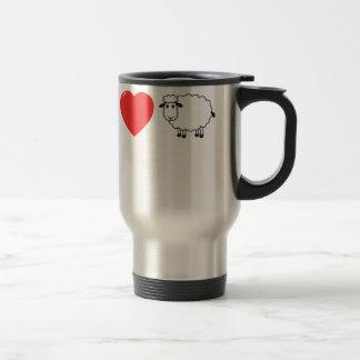 I Love Ewe Men.png Travel Mug