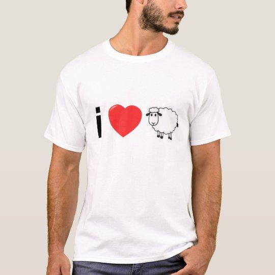 I Love Ewe Men T-Shirt