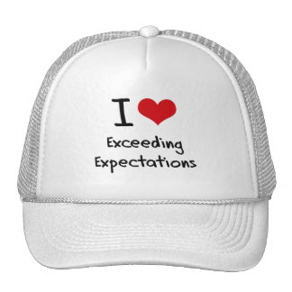 I love Exceeding Expectations Hat