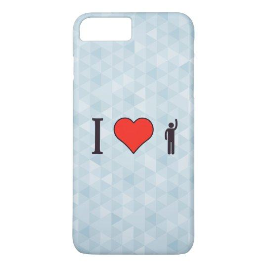 I Love Exerting Pressure iPhone 8 Plus/7 Plus Case