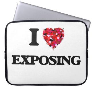 I love Exposing Laptop Computer Sleeves