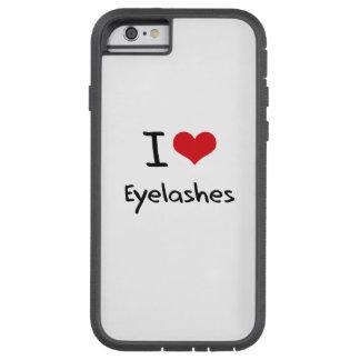 I love Eyelashes iPhone 6 Case