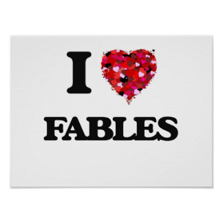 I Love Fables Poster