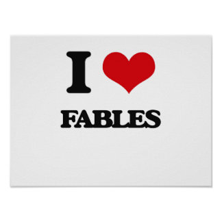 I love Fables Posters