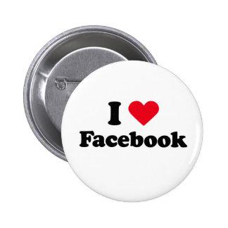 I love facebook 2 inch round button