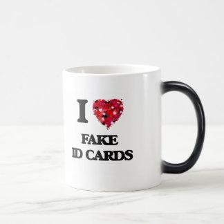 I Love Fake Id Cards Morphing Mug