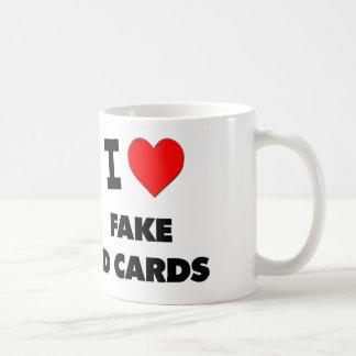 I Love Fake Id Cards Mug