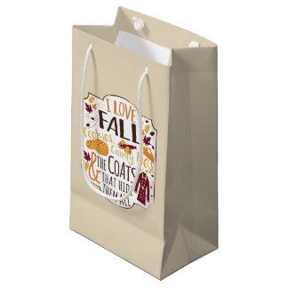 I Love Fall Gift Bag