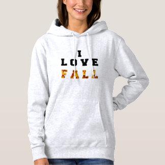 I love fall! hoodie