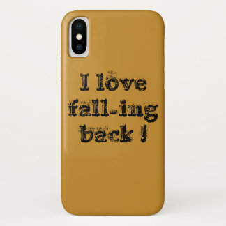 I love fall-ing back Case-Mate iPhone case