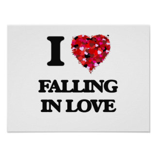 I Love Falling In Love Poster