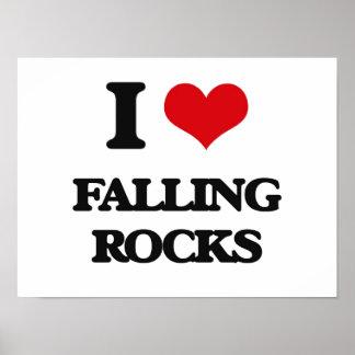 I love Falling Rocks Print