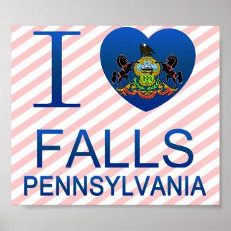 I Love Falls, PA Poster