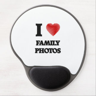 I love Family Photos Gel Mouse Pad