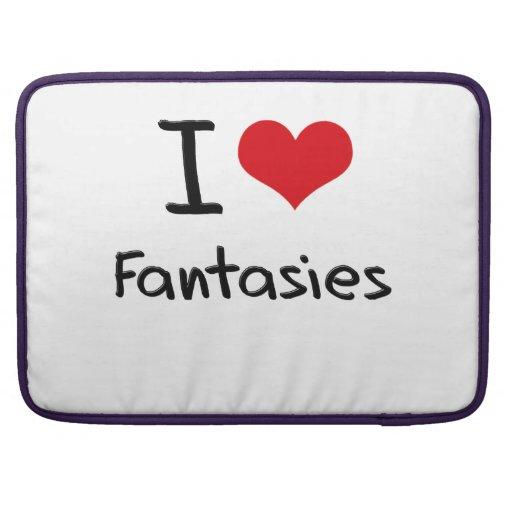 I Love Fantasies Sleeves For MacBooks
