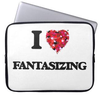 I Love Fantasizing Laptop Computer Sleeves