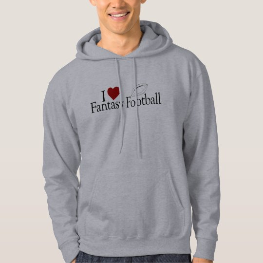 I Love Fantasy Football Hoodie