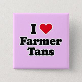 I love farmer tans 2 inch square button