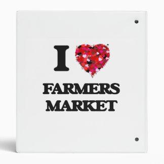 I Love Farmers Market Binder