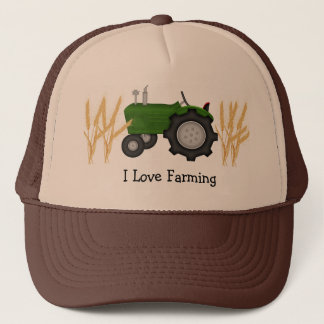 I Love Farming Trucker Hat