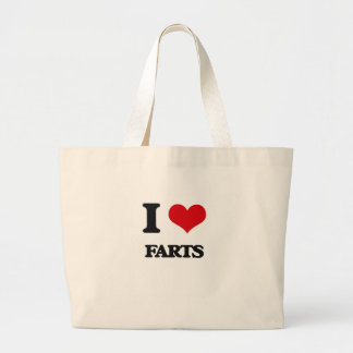 I love Farts Tote Bags